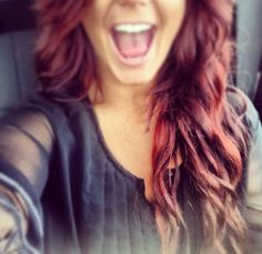Chelsea houska love this color of red hair! Blond, Chelsea Houska Hair, Wine Hair, Dye My Hair, Gorgeous Hair, You're Beautiful, Hair Dos, Pretty Hairstyles, Her Hair
