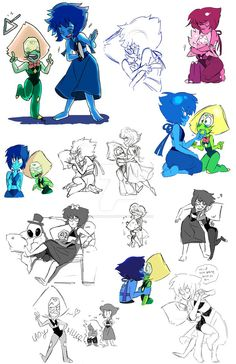 Want to discover art related to lapidot? Check out inspiring examples of lapidot artwork on DeviantArt, and get inspired by our community of talented artists. Steven Universe Theories, Steven Universe Ships, Steven Universe Drawing, Steven Universe Funny, Universe Art, Lapis And Peridot, Lapis Lazuli, Amethyst, Yuri