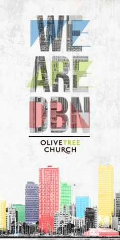 Design // Church Designs by Brett Jones, via Behance