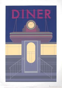 Perry King- Brooklyn Diner