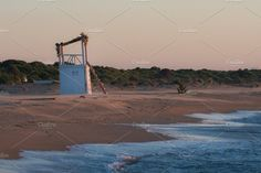 Lifeguard Beach Tower by QueenDesigns on @creativemarket