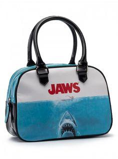 "Women's ""Jaws"" Bowler by Rock Rebel (Blue) #InkedShop #InkedMag #Jaws #Bowler #Blue"