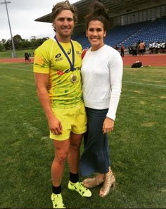 Lewis Holland and Charlotte Caslick Rugby Girls, Game Of Love, Olympians, Cute Couples, Holland, Rio, Charlotte, Running, Sports