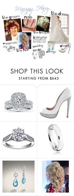 """""""Marrying Harry"""" by karolinebhn ❤ liked on Polyvore featuring Rosa Clará, Miu Miu, Astley Clarke, John Hardy and Reger by Janet Reger"""