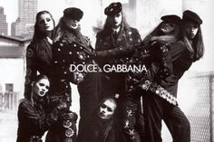 styleregistry: Campaign Overview | Dolce & Gabbana; FALL 1992