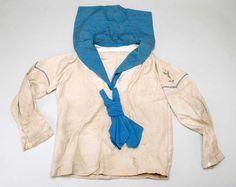 Vintage French child's sailor shirt