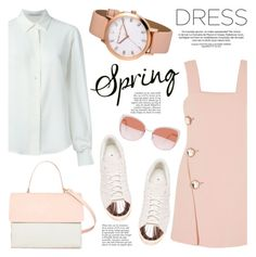 """""""Sweet Spring Dresses"""" by christianpaul ❤ liked on Polyvore featuring Marni, Agnona, adidas, Eddie, Anja, Eloquii, contestentry, springdress and christianpaul"""