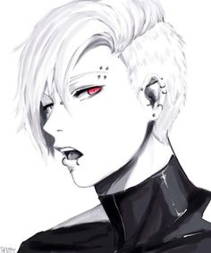 anime guy white hair tumblr - Buscar con Google