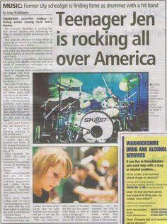 Article on teenager Jen Ledger!:
