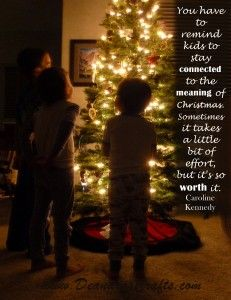 the meaning of christmas quote by carolyn kennedy
