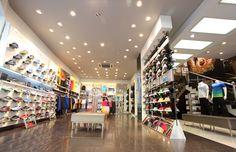 Retail Lighting - Anta Sports   GE Lighting India