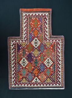 Antique TRIBAL BAGS And TRAPPINGS at Brian MacDonald Antique Rugs & Carpets - Stock