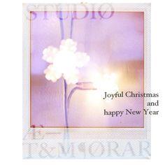 Joyful Christmas from AtemporaryStudio  card by Belinda De Vito