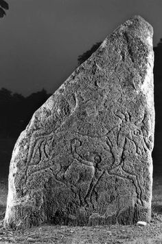 A special visit the a very old, misunderstood and misinterpreted Inverurie horse carved Pictish stone, near Inverurie, Scotland Celtic Dragon, Celtic Art, History Of Wine, Mystery Of History, Ancient Art, Ancient History, Calligraphy Alphabet, Islamic Calligraphy, Calligraphy Doodles