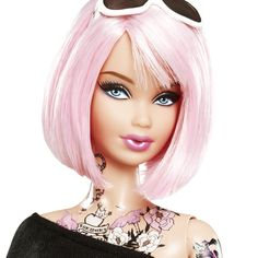 Tokidoki Barbie. I would've loved to have this doll but she sold out too fast!
