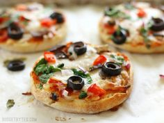 Freezer Ready Mini Pizzas - Budget Bytes