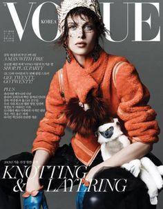 Aymeline Valade for Vogue Korea November 2013