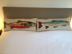 Fish cushions Bogota, Columbia