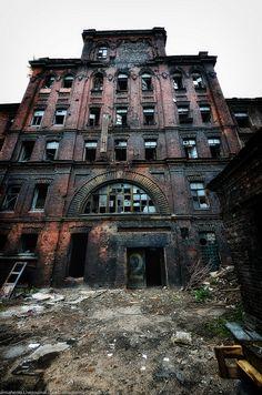 """""""Krasniy Treugolnik"""" - one of the oldest industrial enterprises of St. Petersburg."""