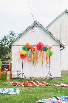 First birthday Fiesta party