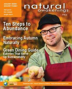 November 2011 - Green Dining, and Ten Steps to Abundance