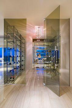 SOJO Design wine cellar