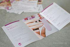 Nails & Beauty Eline – Folder designed by Svart