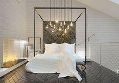 Verlichting in de slaapkamer - Residence