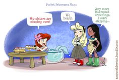 Pocket princess no. 30 by amy mebberson Disney Magic, Walt Disney, Disney Amor, Cute Disney, Disney Girls, Funny Disney, Pocket Princesses, Pocket Princess Comics, New Pocket Princess