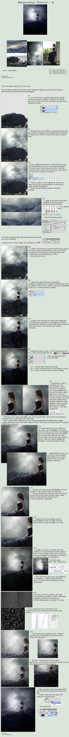 Photomanipulation Tutorial 18 by night-fate.deviantart.com on @deviantART