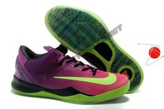 Buy Red Plum Electric Green Pink Flash 615315 500 Kobe 8 System Mambacurial FB Halloween Discounts