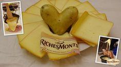Les pommes de terre adorent les fromages à raclette @richesmonts !
