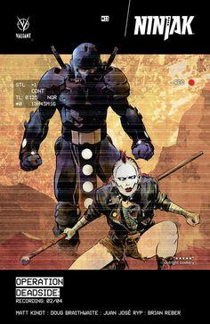 Preview: Ninjak #11, Story: Matt Kindt Art: Doug Braithwaite with Juan Jose Ryp Covers: Kano, Cary Nord, Clayton Henry, Trevor Hairsine & Dave Johnson Publisher: Va...,  #All-Comic #All-ComicPreviews #CaryNord #ClaytonHenry #Comics #DougBraithwaite #JuanJoseRyp #Kano #MattKindt #Ninjak #previews #TrevorHairsine&DaveJohnson #ValiantComics