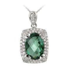 Emerald Green Diamonds