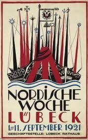 Vintage Buch Woche Poster