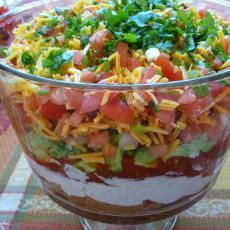Mexican 5-Layered Dip