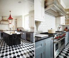 HGTV star and Toronto designer Tommy Smythe wanted to bow to the past and nod to the now in this Victorian redesign. He chose white upper cabinets for a traditional feel, but then added a contemporary