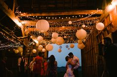 Barn reception/dance would be so adorable :)
