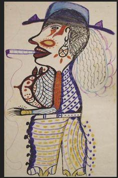 John Henry Toney wurde 1928 in Russell County, Alabama geboren. 1995, mit 66 Jahren fand er auf seinem Feld eine Rübe mit einem Gesicht, verspürte den Drang, diese Rübe zu zeichnen und hat seither nicht mehr zu Zeichnen aufgehört... auf www.aussenseiterk... werden unter anderen auch Zeichnungen von Toney gezeigt.