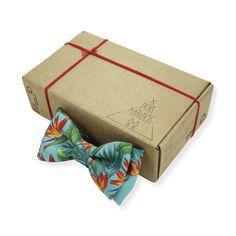 Gravata Borboleta Tropical Ocean – Dois Maridos – Gravatas Borboletas, Suspensórios e informações de moda.