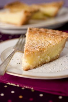 Buttermilk Pie with Nutmeg - Read More at Relish.com