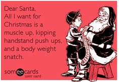 christmas wod party meme