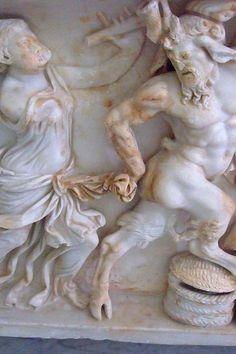 Roman sarcophagus 4th century CE (1)