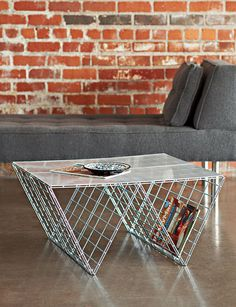 How To: Make A Modern Industrial Coffee Table