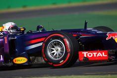 Australian GP 2013 - Melbourne - Practice Session - Sebastian Vettel with OZ Racing wheels #OZRACING