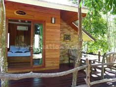 Bungalow with private terrace and table set @ Ra Beang Mai (Koh Kood, Thailand)
