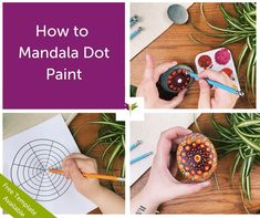 Our free step-by-step tutorial and template makes it possible (even for beginners) with our cool dot painting technique. Meaning 'circle,'