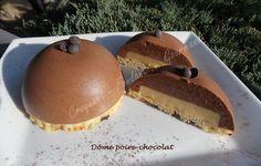 Dôme poire-chocolat DSCN1428