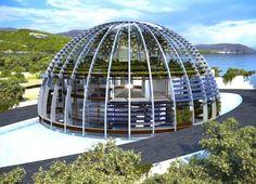 Naomi Campbell's Massive Island Eco-House in Turkey