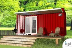 Casa Container 15m² Tiny House II. R$24.367,86